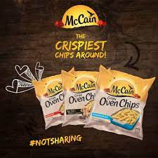 McCain South Africa - Tag someone who you know loves McCain's Crispy New Oven  Chips in the comment section and you both could win a McCain hamper! |  Facebook
